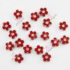 Fashion Jewelry 8mm Bracelet Metal Flower Slide Charm (JP08)