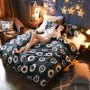 Polyester Coral Polar Fleece Bed Sheets Flannel 4PCS Bedding Set