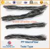 Polypropylene PP Twist Fiber Fibre Smilar Forta Ferro Macrofiber Macrofibre