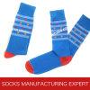 Men′s Colorful Cotton Casual Sock