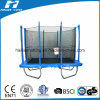 6X9ft Rectangle Trampoline with Safety Net