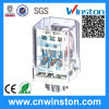 General Purpose Industrial Power Socket Mounted Electromagnetic Relay with CE