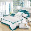 Luxury 100% Egyptian Cotton Duvet Quilt Cover & Pillowcase Bedding Set