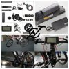 Bafang Electric Bicycle MID Motor Conversion Kit with Samsung Battery