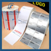 Paper and Plastic Sticker in Roll with Customized Printing