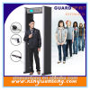 Xyt2101LCD Subway, Factory, Gym, Airport Archway Metal Detectors, Walk Through Metal Detector with Perfect Waterproof Design