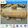 Carbon Steel Tube Pipe Fitting Tank Cover with Flange Connection