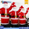Inflatable Advertising Santa Giant Inflatable Christmas Santa Claus