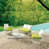 Luxury Cheap White Rattan Wicker Outdoor Furniture Sofa