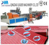 880mm PVC Plastic Bamboo Roofing Sheet Production Line