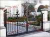 Wrought Iron Garden Double Gates