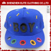 Blue Plain Cotton 6 Panel Baseball Cap Manufacturers