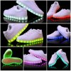 Luminous USB Charging Light LED Shoes with High Quality