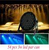 Mini 54PCS*3W LED PAR Light for Stage Dyeing Effect Stage PAR Can