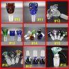 9 Style 14mm/18mm Male Female Glass Bowl for Smoking Pipe