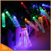 Garden Christmas Icicle 50LED Outdoot String Light Solar Powered Lamp