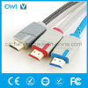 Dual Color High Speed Metal Casing HDMI Cable for Cellphone Camcorders HDTV