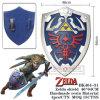 The Legend of Zelda Shield Stainless Steel Shield 1: 1
