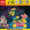 Child DIY 3D Puzzle Toy with Flower