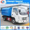 Mini 3tons Foton Rear Hydraulic Hooklift Garbage Truck for Sale