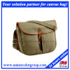 Leisure Casual Canvas Messenger Bag with Waterproof Liner