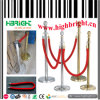 Stainless Steel Barrier Post with Telescopic Rope for Airport