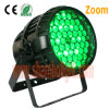 High Power RGB Tri Color Waterproof PAR Light /3W*54PCS PAR Can Stage Lighting