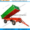 4 Wheels Tipping Trailer in Agriculture From China 2017 Hot Sale