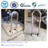 Most Popular Stainless Steel Outdoor Rail Bike Rack (PV-U1)