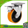 Heavy Duty Brake Type Double Ball Bearing Caster