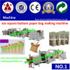 Jumbo Big Roll with Die Cutting Window Paper Square Bottom Bag Making Machine Paper Shopping Bag Making Machine