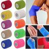 Coban Coflex Nonwoven Bandage Colored Vet Wrap Elastic Cohesive Bandage