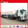 3axles Liquid Oxygen Nitrogen Argon Gas Tank Truck Semi Trailer