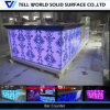 LED Corian Commercial Bar Counter