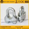 Galvanized Steel DIN 741 Malleable Wire Rope Clip