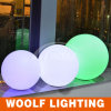 Waterproof Plastic Ball with RGB LED Light Insert