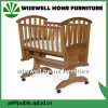 Solid Pinewood Baby Cradle