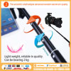 Cheap 7 in 1 Bundle Kit Rk85e Selfie Stick Monopod with Bluetooth Remote Shutter, Zoom Function and Phone Clamp