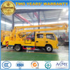 Dongfeng 4*2 Double Cab Over Head Working Truck for Sale