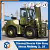 Heavy Duty Diesel 4W 3m Rough Terrain Forklift