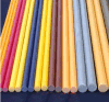 China Solid Round Durable GRP Rod, FRP Rod, Fiberglass Rod
