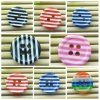 2-Hole Fashion Stripe Shirt Buttons L026-3
