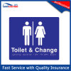 Washroon / Toilet / Bathroom/ Change Room Braille Sign (YW788)