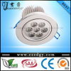 High power 7W Recessed LED ceiling lights