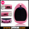 Waterproof Solar Charger 3000mAh Rain-Resistant and Dirt/Shockproof USB Port Portable Charger