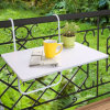 Balcony Hanging Table, Adjust Balcony Table, Foldable Table