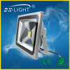 50W COB Sliver Case Warm White LED Flood Light
