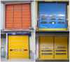 High Density PVC Industrial Stacking Door/ High Speed Stacking Door /Automatic Rolling Shutter Door