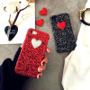 iPhone New Customize Sparkling Love Pattern Design PC Phone Case