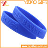 Promotional Fashion Debossed Bracelet/ Promotion Silicone Wristband
